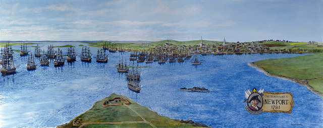 The French Fleet at Newport 1781