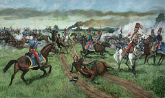 Virginia Militia Battle Tarlton